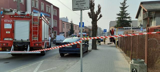 Do wypadku doszło na ulicy Kościuszki w Lipnie