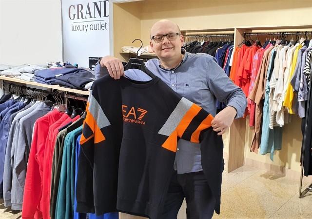 Właściciel kieleckiego outletu Grand Jarosław Panek zapowiada, że każdego dnia oferta sklepu internetowego będzie się systematycznie poszerzać.