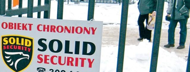 Pracownicy firmy Solid ochraniają wiele słupskich firm.