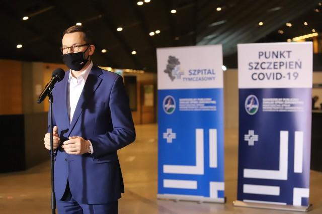 Premier Mateusz Morawiecki w MCKZobacz kolejne zdjęcia. Przesuwaj zdjęcia w prawo - naciśnij strzałkę lub przycisk NASTĘPNE >>>
