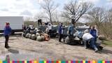 Operacja czysta rzeka w Łomży. Przez kilka godzin zebrano 3 tony śmieci [zdjęcia]