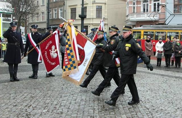 Pięć lat temu, z okazji 25-lecia Straży Miejskiej w Grudziądzu, formacja otrzymała własny sztandar