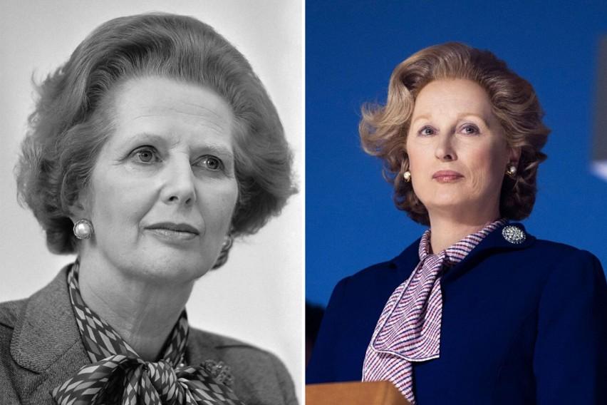 Meryl Streep jako Margaret Thatcher - Żelazna Dama (2011)...