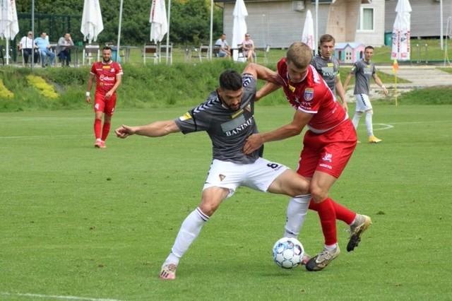 Zagłębie Sosnowiec przegrało z Podbeskidziem Bielsko-Biała 1:2