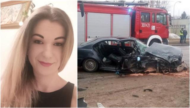 Wypadek na Towarowej w Białymstoku. Policjant wymusił pierwszeństwo. BMW zderzyło się z autobusem. Sparaliżowana Magdalena Sielamowicz potrzebuje pomocy. Ruszyła zbiórka na rehabilitację