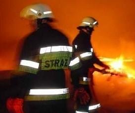Ogień gasiło sześć jednostek straży pożarnej, zarówno zawodowej, jak i ochotniczej (fot. archiwum)
