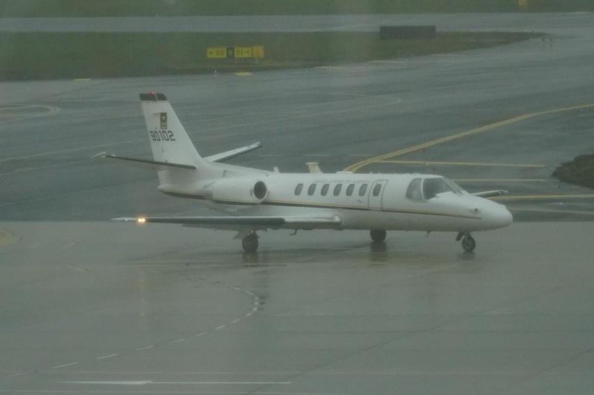 Pijany pasażer samolotu na lotnisku w Gdańsku. Interweniowali strażnicy