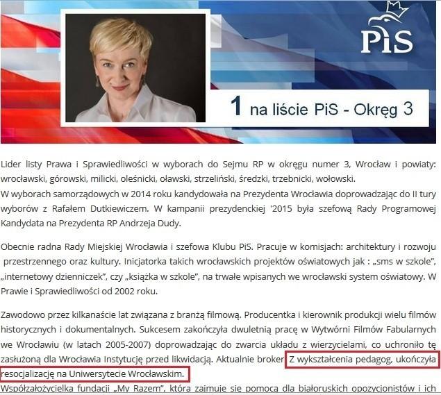 Oficjalna strona Mirosławy Stachowiak-Różeckiej