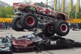 Monster trucki i jazda na boku. American Monster Truck Motor Show w Lublinie [ZDJĘCIA, WIDEO]
