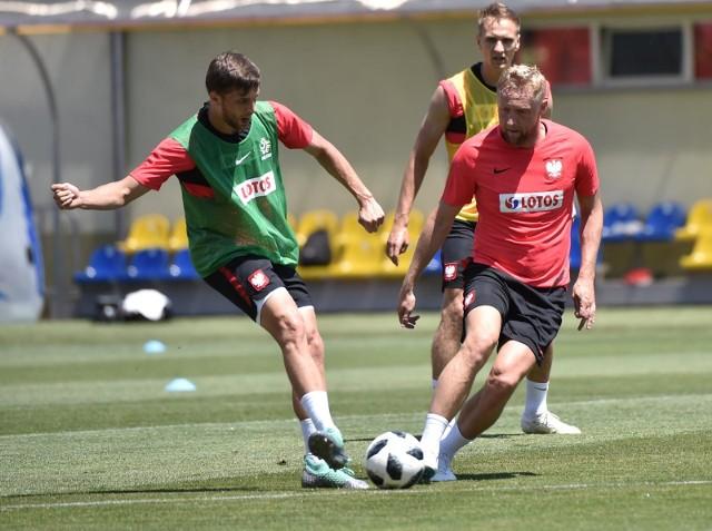 Piłkarze, którzy nie wystąpili z Senegalem lub grali krótko w środę mieli trening wyrównawczy.
