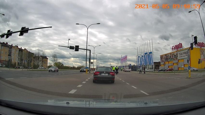 Wypadek na ulicy Narodowych Sił Zbrojnych