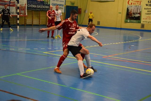 Igor Babanskykh (na pierwszym planie w czerwonym stroju) bardzo mocno przyczynił się do wygranej Berlandu w Tychach.