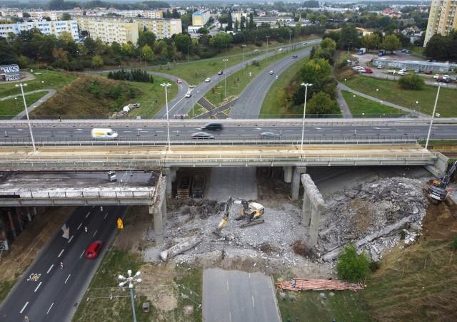 W 2017 roku rozebrano wiadukt południowy przy ul. Wojska Polskiego w Bydgoszczy. Teraz czas na północną konstrukcję