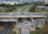 Tak znika wiadukt na ulicy Wojska Polskiego w Bydgoszczy [wideo i zdjęcia z drona]