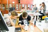 Eureka w Białymstoku! Laboratorium w gimnazjum (zdjęcia)