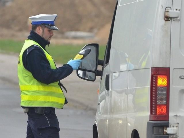 Najsprawniej policja w Łodzi ściga przestępstwa drogowe.