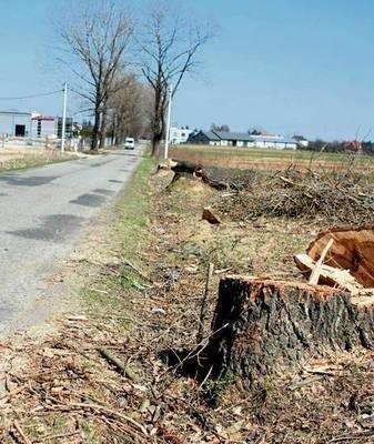 Przebudowa drogi w Targowisku nie ruszyła jeszcze pełną parą FOT. BOGDAN PASEK
