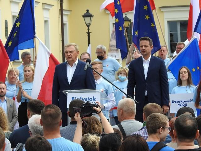 W uroczystości weźmie udział prezydent Warszawy Rafał Trzaskowski. Zaprosił go prezydent Tadeusz Truskolaski.