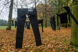 Czarne pranie zawisło na poznańskiej Cytadeli. To kolejna odsłona protestu kobiet po wyroku TK w sprawie aborcji