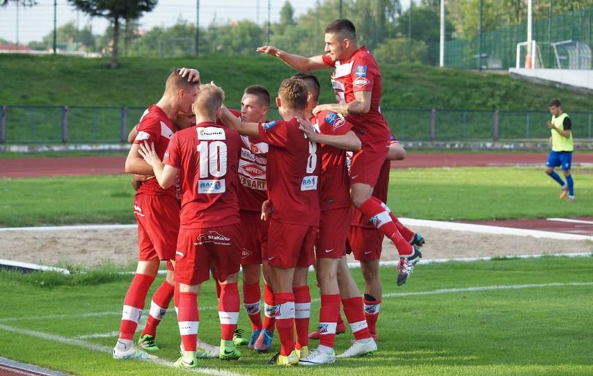 Piłkarze Wdy w sobotę zagrają w Gdyni z Bałtykiem