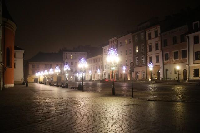 W sylwestrową noc Kraków opustoszał