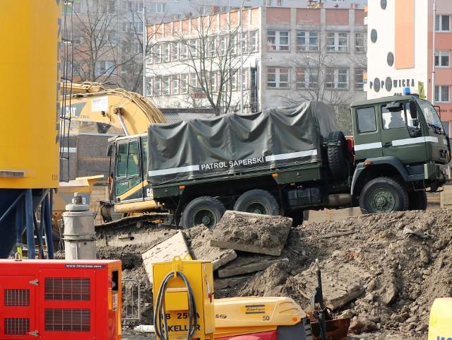 Bomba znaleziona na budowie Portu Popowice 4.03.2021