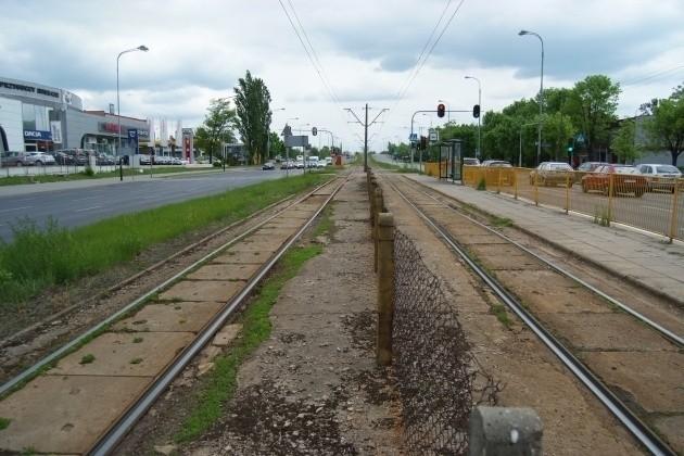 Stan torowiska na ul. Przybyszewskiego jest fatalny.