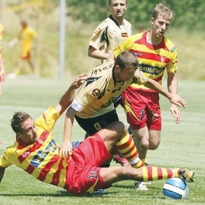 Z Widzewem Łódź jagiellończycy przegrali 1:2, ale z Sokołem Aleksandrów Łódzki było już lepiej, bo 3:0