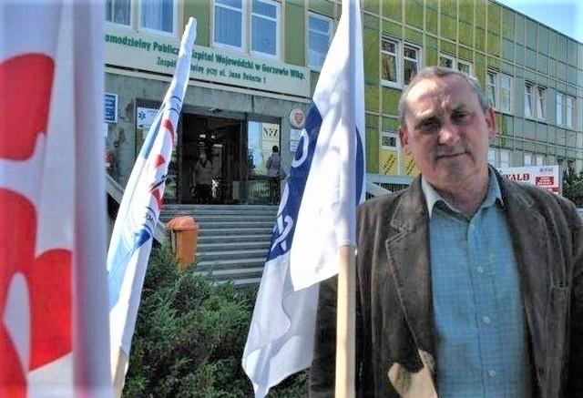 Andrzej Andrzejczak nie wyklucza strajku w szpitalu w Gorzowie.