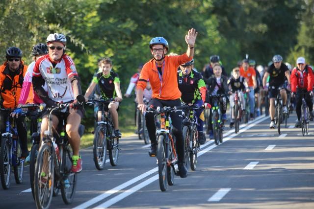 Oficjalne otwarcie velostrady przypadło na 30 września. Z okazji uroczystego otwarcia zorganizowano rajd rowerowy, na który mogło się zgłosić do 800 chętnych.