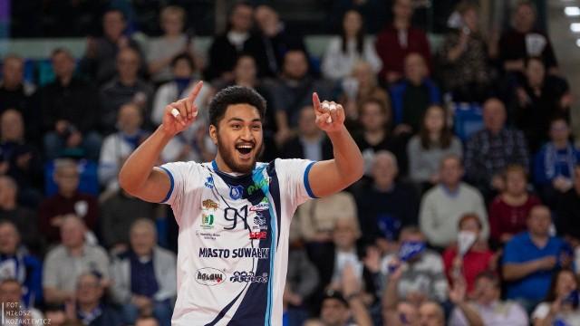 MVP meczu został  Josua Tuaniga (MKSŚlepsk Malow)