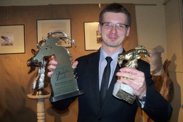 Grzegorz Ptak i jego dwie Kozy.