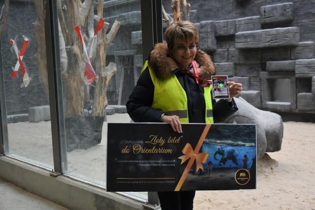 Na licytacje trafiła możliwość odbycia wycieczki po Orientarium z prezydent Łodzi Hanną Zdanowską. Dojdzie do niej na chwilę przed oficjalnym otwarciem tej nowej atrakcji łódzkiego zoo.