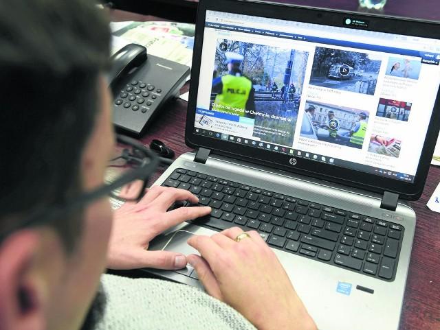 75 proc. ankietowanych spędza wolny czas, przeglądając internet.
