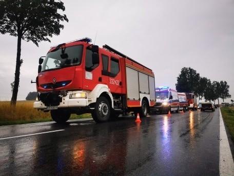 Wypadek na DK 11 na trasie Koszalin - Bonin