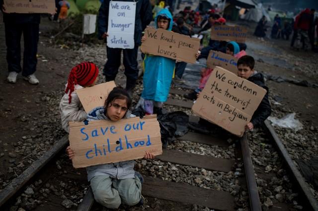 Dzieci wojna dotyka w najokrutniejszy sposób...
