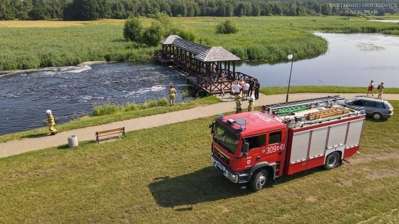 Kąpielisko w Supraślu musi pozostać zamknięte.