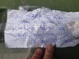Romantyczny list żony do męża znaleziony wśród porzuconych w lesie śmieci. Leśnicy odpowiedzieli autorce
