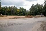 Gmina Supraśl. Budowane rondo na drodze powiatowej z Grabówki do Ciasnego będzie miało inną geometrię