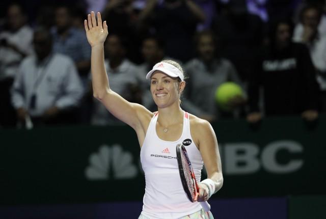 Angelique Kerber w meczu z Madison Keys