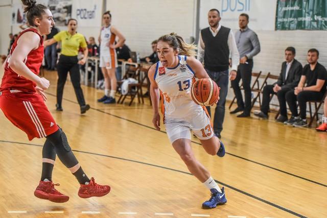 Iwona Szarzyńska zdobyła 5 punktów, czyli nie była już tak skuteczna jak w pierwszym meczu z młodzieżą z Łomianek