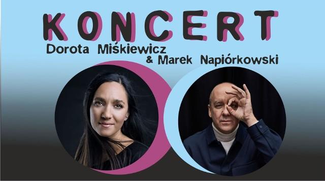 Dorota Miśkiewicz i Marek Napiórkowski wystąpią w Kozienickim Domu Kultury w czwartek, 7 października.