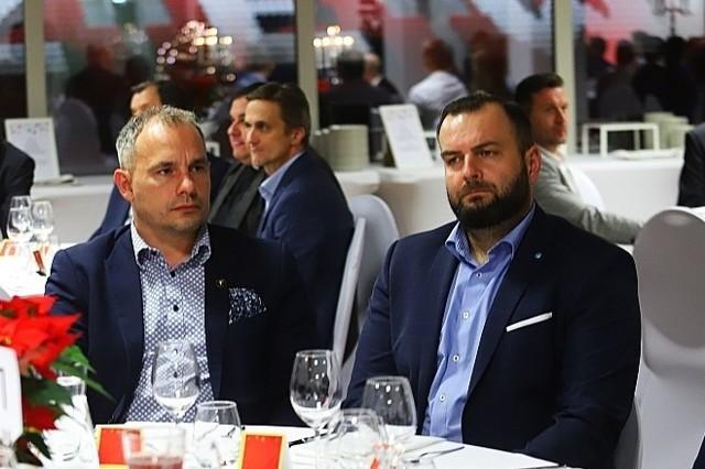 Wiceprezes zarządu Piotr Szor i szef stowarzyszenia RTS Piotr Pietrasik