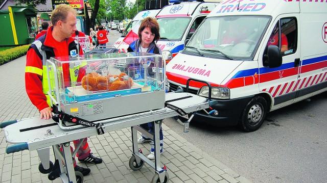 Nie chcemy walczyć z pogotowiem, ale się z nim uzupełniać - przekonywali w Tarnowie ratownicy prywatnego transportu