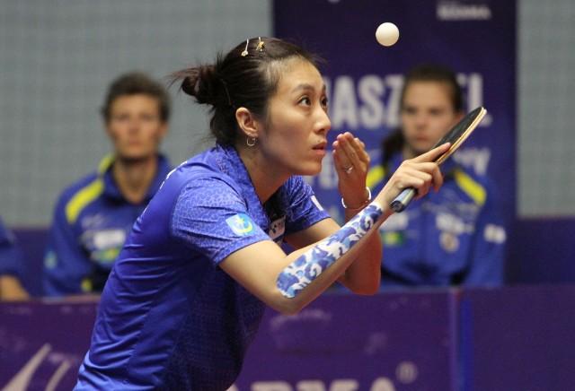 Han Ying to jedyna zawodniczka Enea Siarki, która pozostaje w grze podczas węgierskiego turnieju