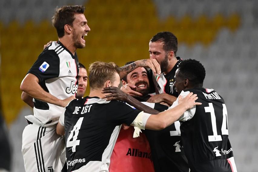 W niedzielę Juventus zapewnił sobie mistrzostwo Włoch, już...