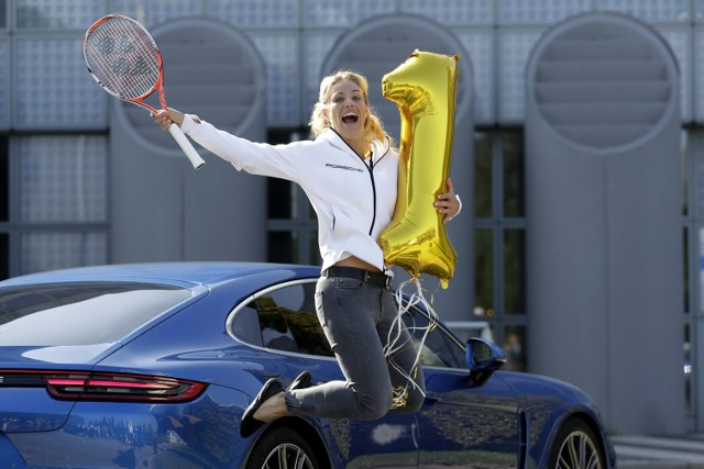 Pierwsza dama tenisa ma dom i... płaci podatki w Puszczykowie