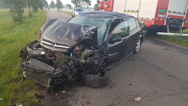 Wypadek w Drężku, 28.06.2020