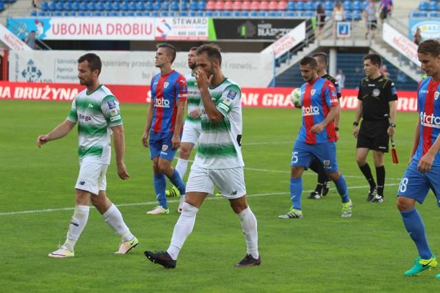 Po przegranym meczu z Lechią Gdańsk Piast Gliwice odpadł z Pucharu Polski