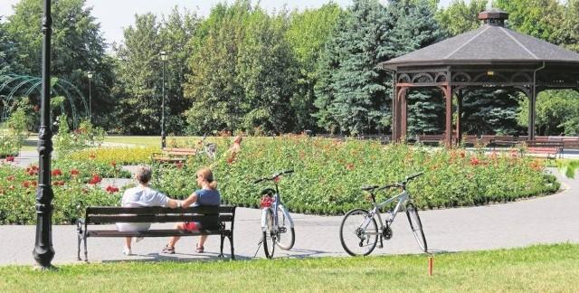 Dzięki środkom w ramach wcześniejszych edycji RPO powstała m. in. nowa część Parku Solankowego w Inowrocławiu